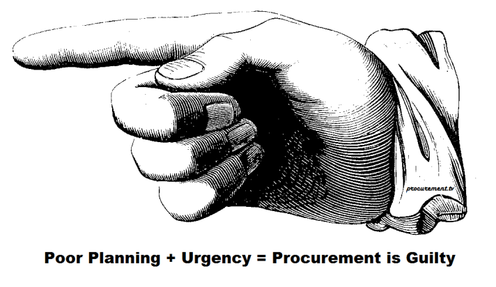 procurement is guilty